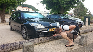 Photo: De bumper zat een beetje klem...