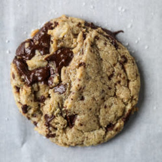 Salted Dark Chocolate Chunk Cookies.