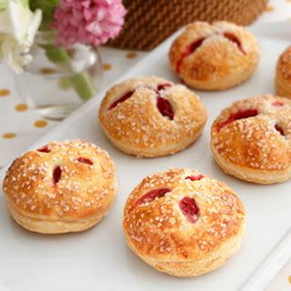 Red Raspberry & White Chocolate Cream Hand Pies
