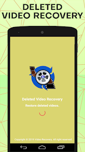 Download Video Recovery : Scan Deleted Lost Videos Restore For PC Windows and Mac apk screenshot 1