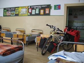 Photo: Übernachten in einer Grundschule