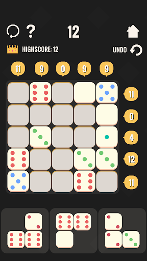 Logic Blocks - Make Ten - screenshot