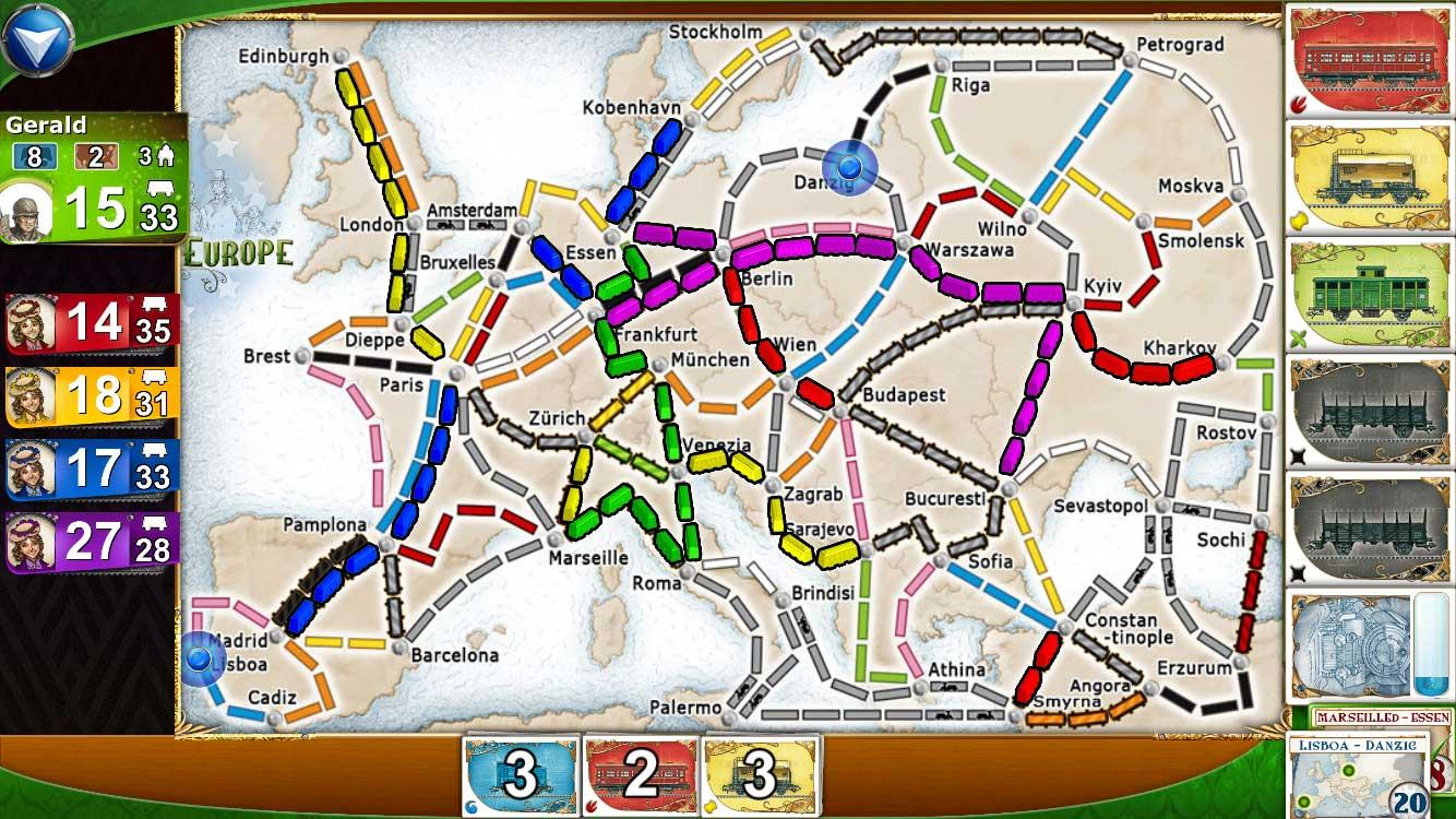 Ticket to Ride screenshot #2