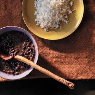Havana-Style Black Bean Soup.