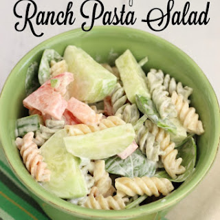 Creamy Ranch Pasta Salad.