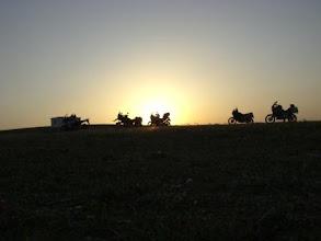 Photo: Nabeul Offroad-Sonnenuntergang (Urheberrecht K. Oppmann)