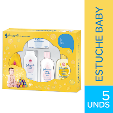 Kit grande Johnsons Baby x5 Unidades