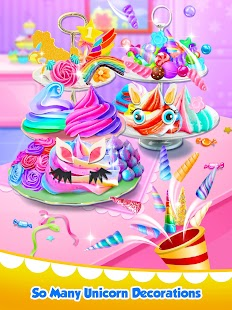 Unicorn Food - Sweet Rainbow Cupcake Desserts - náhled