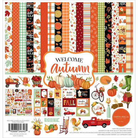 Carta Bella Collection Kit 12X12 - Welcome Autumn
