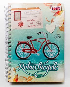 Cuaderno Lukis Pequeño   Argollado Retro X 1Und