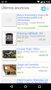 Anuncios Misiones screenshot 1