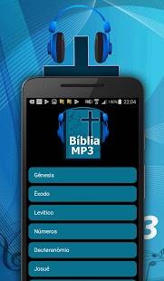 Bíblia em áudio MP3 - náhled