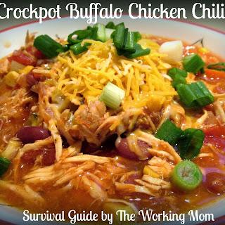 Crockpot Buffalo Chicken Chili
