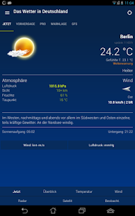 The Weather in Germany: Radar, weather warnings APK image thumbnail 9