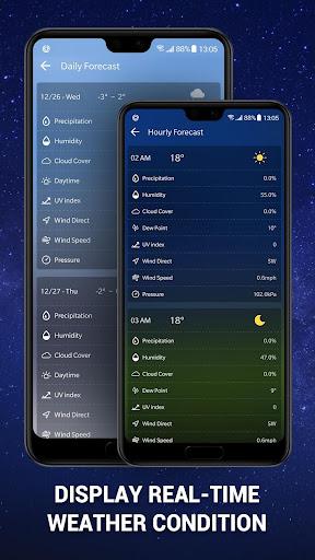 Weather Forecast App & Radar Widget 15.6.0.45253 screenshots 4