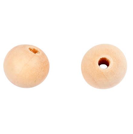 Träpärlor 10mm 40/fp