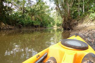 Photo: kurze Kayak-Tour