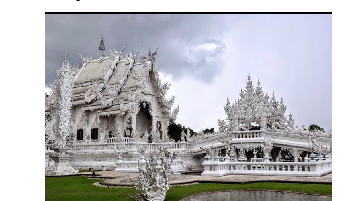Rong Khun – đền trắng