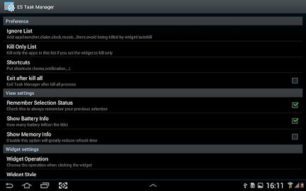 ES Task Manager (Task Killer ) Screenshot 13