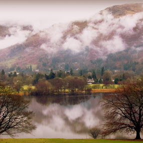 Floating on Water... by Sannit Hazra - Novices Only Landscapes ( lakeland uk, lake district, grasmere )