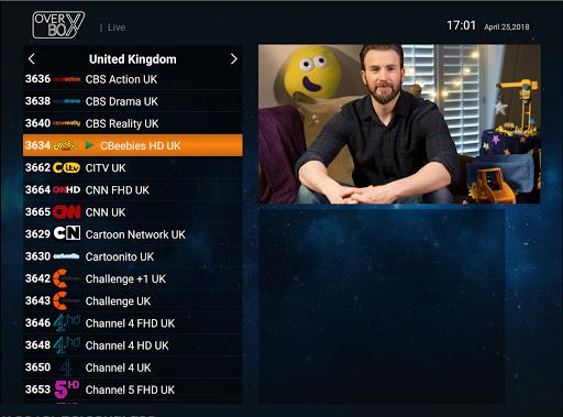 OverBox IPTV screenshot 3