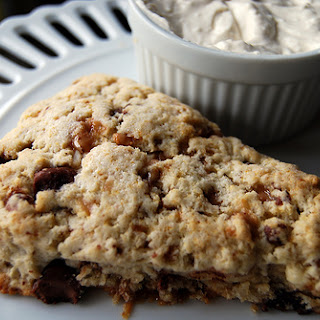Chocolate Chip and Toffee Scones