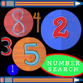 Number Search. Find Sequence.