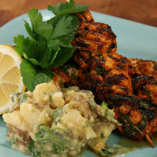 Portuguese Chicken with Potato Salad