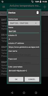 Arduino temperature management
