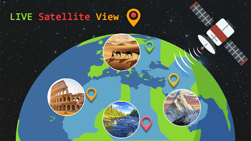 Live Earth Map 2020 -Satellite & Street View Map 2.1 screenshots 4