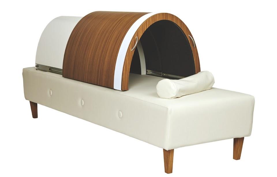 Senior residence sauna