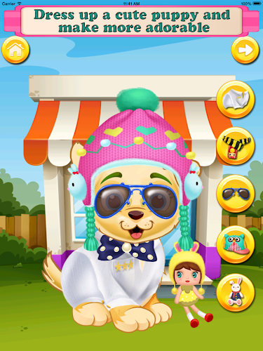 Puppy Pet Daycare Android App Screenshot