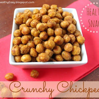 Crunchy Chickpeas - the perfect healthy snack!