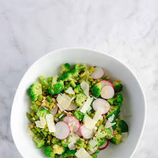 Asparagus Broccoli Salad.