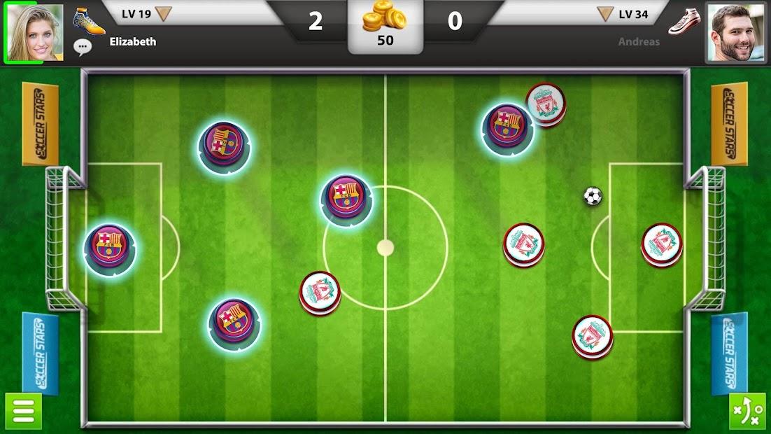 Soccer Stars Android App Screenshot