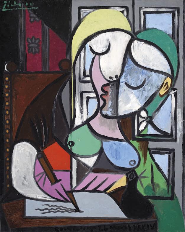 Christie's Prepares Picasso Marie-Thérèse Portrait for $ 32 million for June
