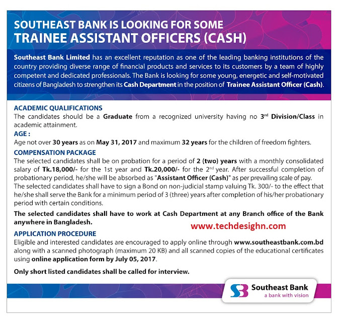 assistant officer southeast bank