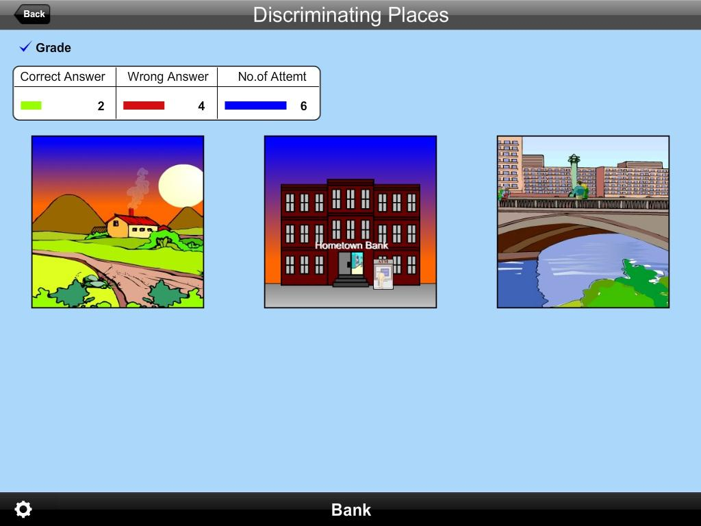 Discriminating Places Lite- screenshot