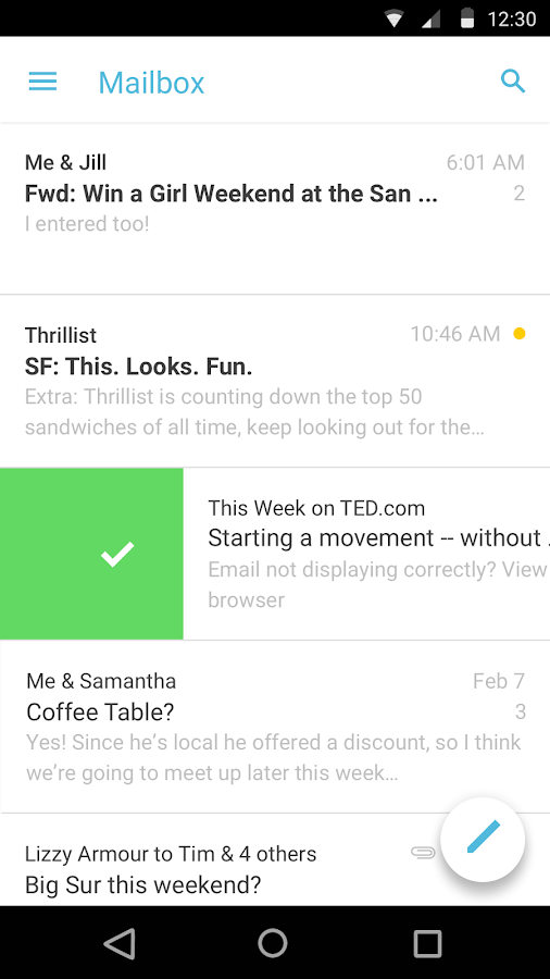Mailbox- screenshot