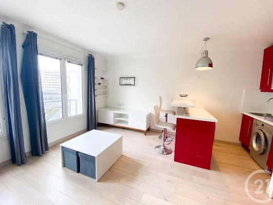 Location studio meublé 25,56 m2