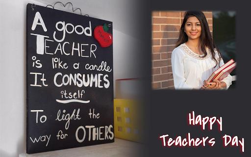 Happy Teachers Day Wish Photo Frame Maker 1.1 screenshots 7