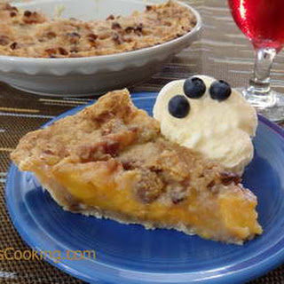 Peach Praline Pie