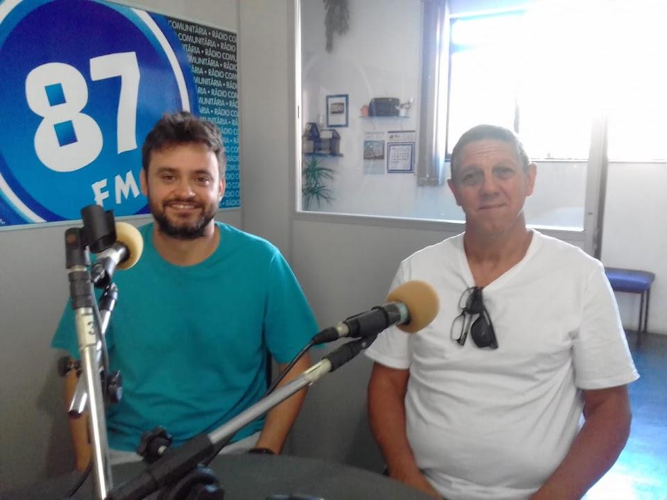 Rafael Pallos (Poyn) e Celso Perocco, Diretores de Esportes Do GCC