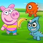 Minion Banana Rush with Piggy Icon