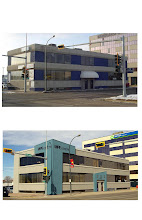 Photo: MPE Engineering Office Refit - Red Deer, Alberta M3D DesignWorks Before and After