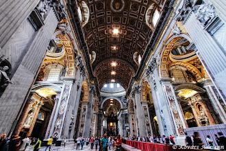 Photo: Szent Péter-bazilika főhajó