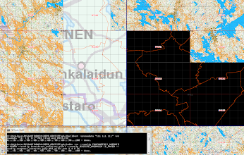 Photo: Building virtual datasets (vrt files) with transparent parts of georeferenced rgb imagery using the gdalbuildvrt and gdaladdo utilities