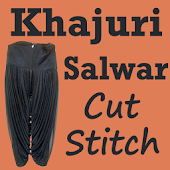 KHAJURI Salwar Cutting and Stitching Videos App