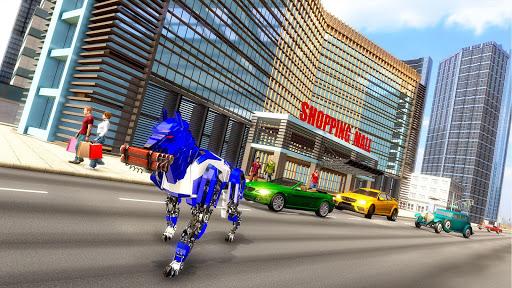 Robot Dog Simulator Subway Dog Police Dog Games apktram screenshots 11