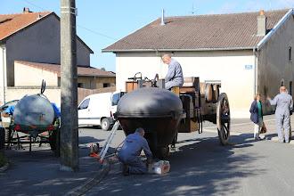 Photo: Préparation de la Chauffe du matin ...